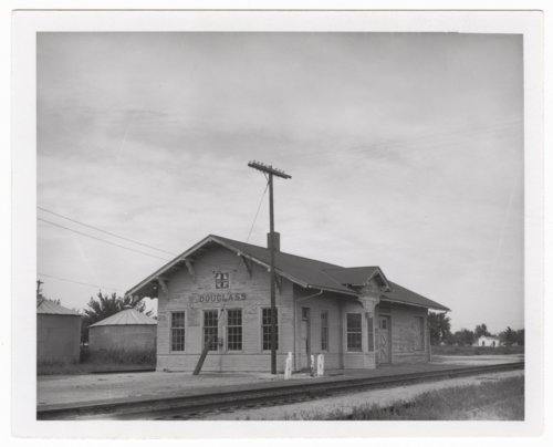 Atchison, Topeka & Santa Fe Railway Company depot, Douglass, Kansas - Page