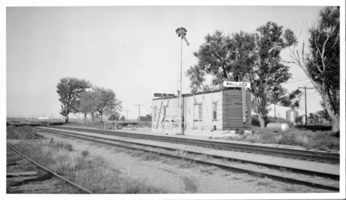 Union Pacific Railroad Company depot, Wallace, Kansas - Page