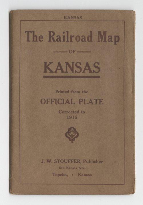 Railroad Map of Kansas - Page