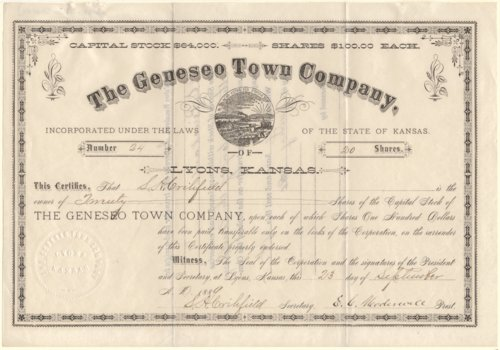The Geneseo Town Company - Page