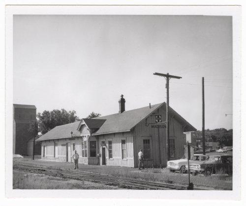 Atchison, Topeka and Santa Fe Railway Company depot, Madison, Kansas - Page
