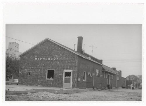 Atchison, Topeka & Santa Fe Railway Company depot, McPherson, Kansas - Page