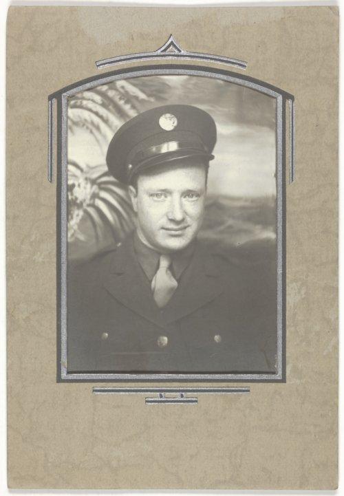 Kenneth Harrison Hill in uniform - Page