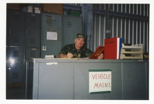 Ken Sherbert at Kansas National Guard summer camp in Italy - Page