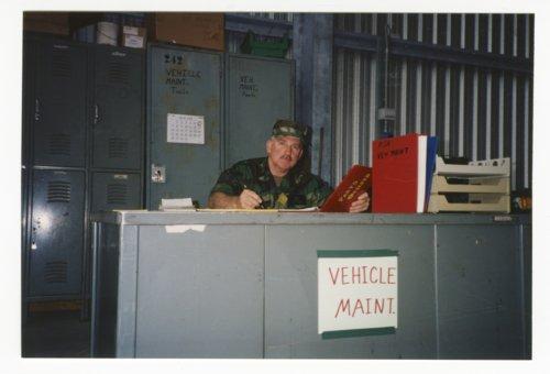 Ken Sherbert at Kansas National Guard summer camp in Italy - Page
