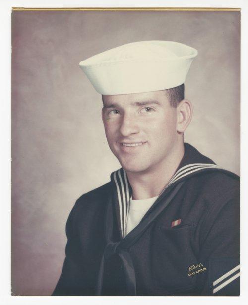 Ken Sherbert in US Navy uniform - Page