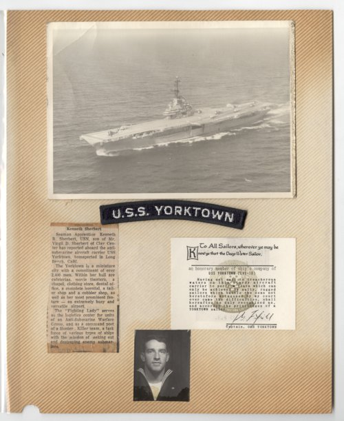 Ken Sherbert and the USS Yorktown - Page