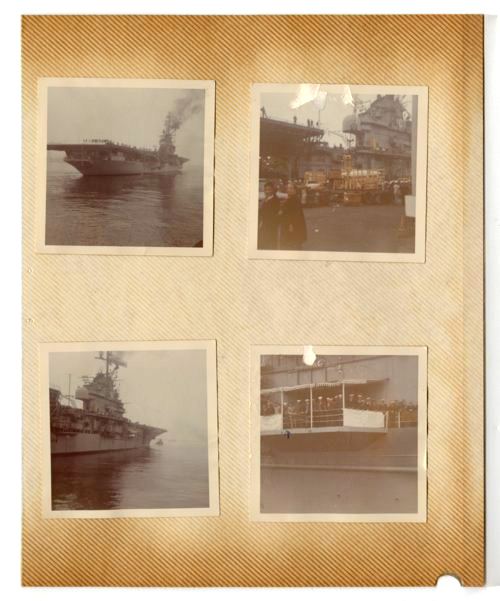Ken Sherbert on the USS Yorktown during the Vietnam War - Page