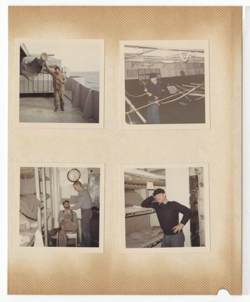 Ken Sherbert on the USS Yorktown during the Vietnam War - Page