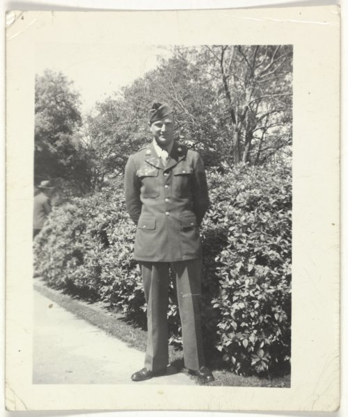 Kenneth Harrison Hill in uniform - Page