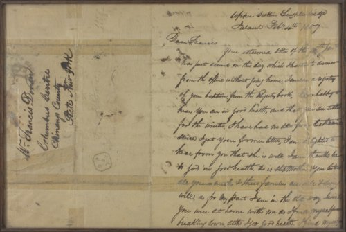 Letter from Patrick Doran to Francis Doran - Page