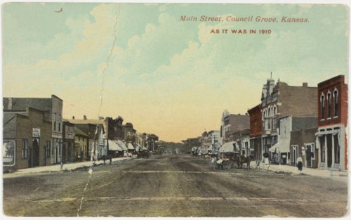 Main Street in Council Grove, Kansas - Page