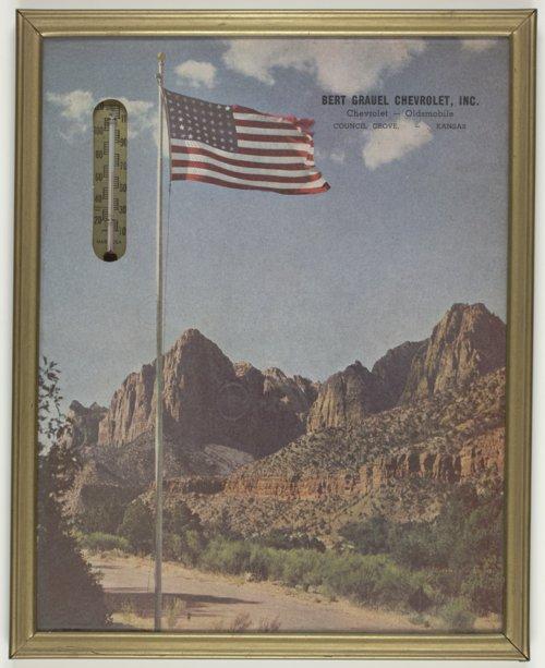 Advertisement for Bert Grauel Chevrolet in Council Grove, Kansas - Page