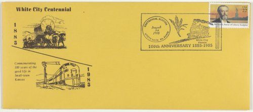 White City Centennial stamp cancellation - Page