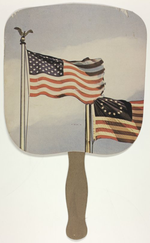 Hand fan for Joan Finney & Jim Francisco campaign - Page