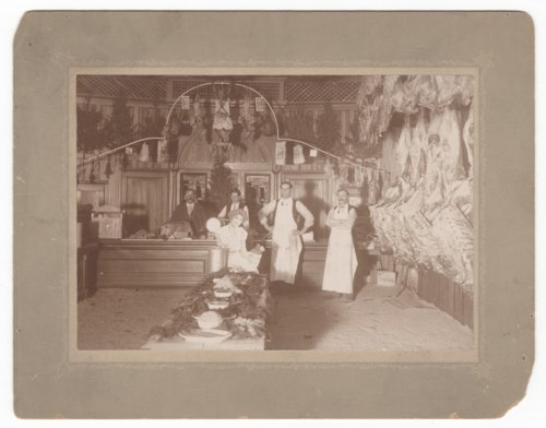 Christmas time at the butcher shop, Council Grove, Kansas - Page