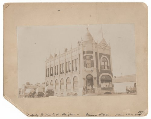 Farmer and Drover's Bank, Council Grove, Kansas - Page