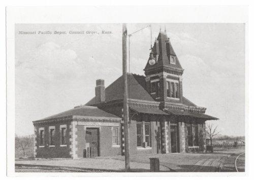 Missouri Pacific Railroad depot, Council Grove, Kansas. - Page