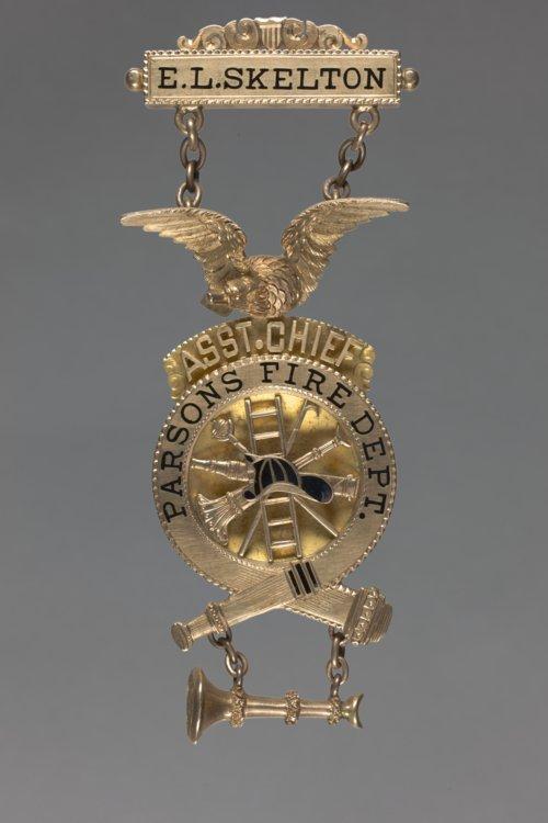 Fireman's Badge - Page