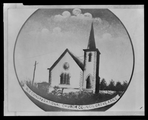 Old Congregational Church, Council Grove, Kansas - Page