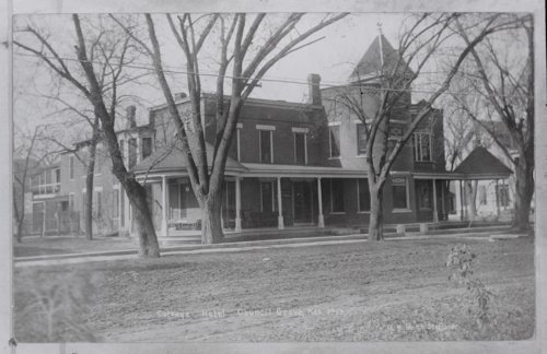 Cottage House Hotel, Council Grove, Kansas - Page