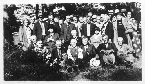 Last Old Settlers Picnic, Diamond Springs, Kansas - Page