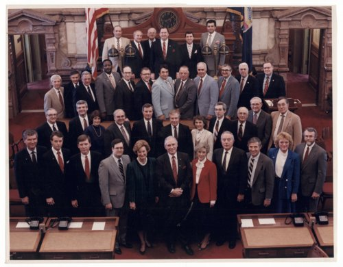 Members of the 1987 Kansas State Senate - Page
