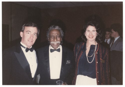 Governor John William Carlin, Gordon Parks, and Katie Strickler - Page