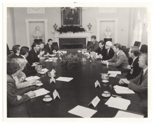 """Big 7"" meeting at the White House in Washington, D.C. - Page"
