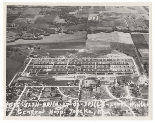 Aerial views of Winter General Hospital in Topeka, Kansas - Page