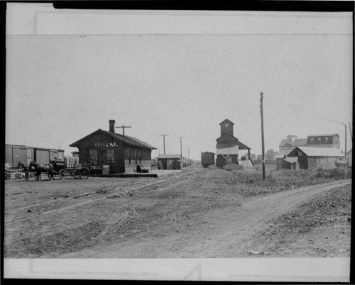 Atchison, Topeka & Santa Fe Railway Company depot, Udall, Kansas - Page