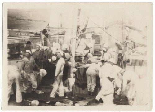 Sailors on the USS Vicksburg - Page