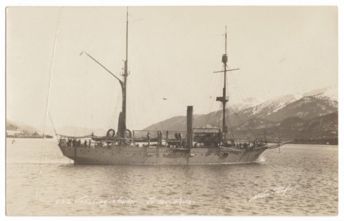 USS Vicksburg in the harbor at Juneau, Alaska - Page