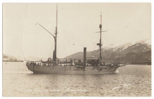 USS Vicksburg in the harbor at Juneau, Alaska - Page
