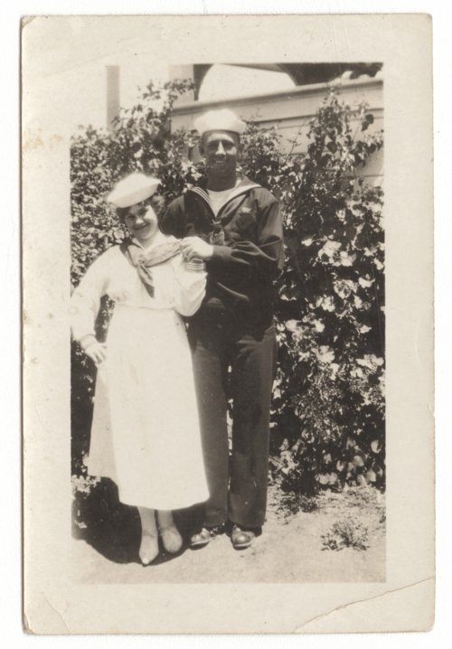 Man and woman in Navy attire - Page