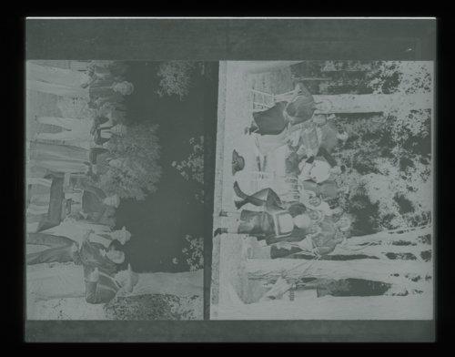 Group of men picnicking, Studley, Sheridan County, Kansas - Page