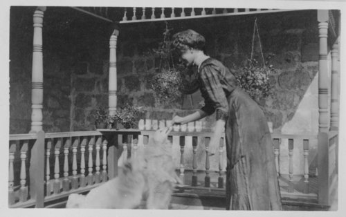 Hilda Pratt, John Fenton Pratt home, Studley, Sheridan County, Kansas - Page