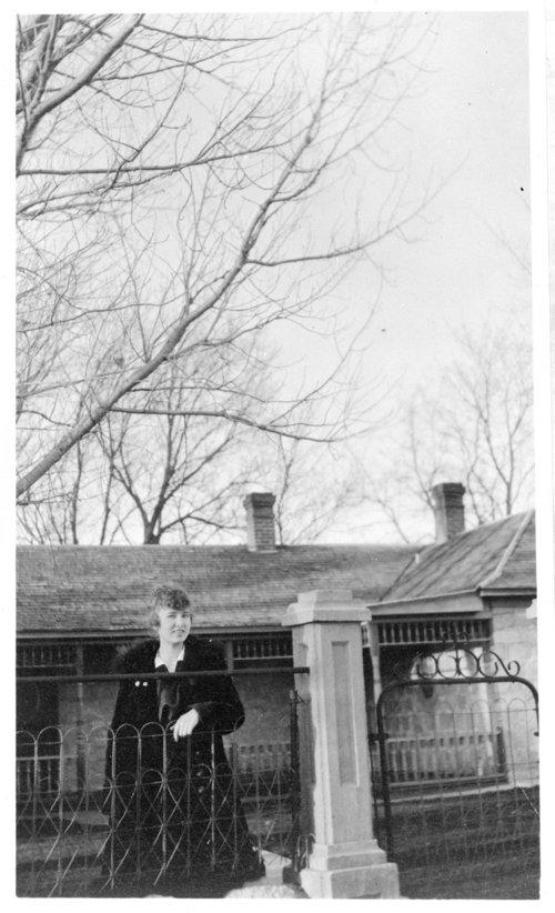 Elsie Pratt, John Fenton Pratt home, Studley, Sheridan County, Kansas - Page