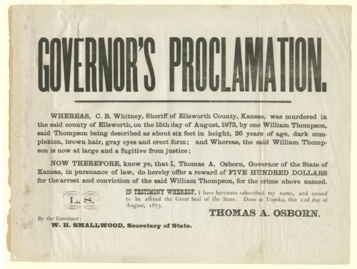 Governor's Proclamation - Page