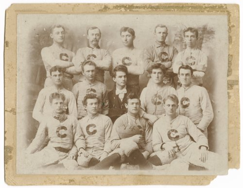 Football team at Cooper Memorial College in Sterling, Kansas - Page
