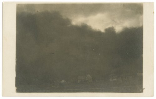Dust storm in Hoxie, Kansas - Page