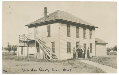 Court house, Sheridan County, Kansas - Page