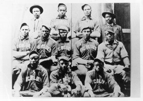 Nicodemus Blues baseball team in Nicodemus, Kansas - Page