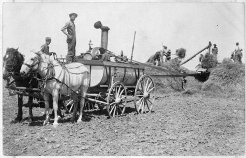 Stone Brothers threshing crew, Greeley County, Kansas - Page