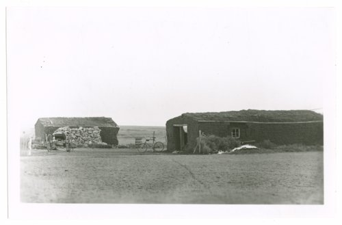 Two sod buildings, Greeley County, Kansas - Page
