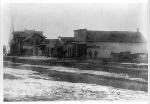 Street scenes, Tribune, Greeley County, Kansas - Page