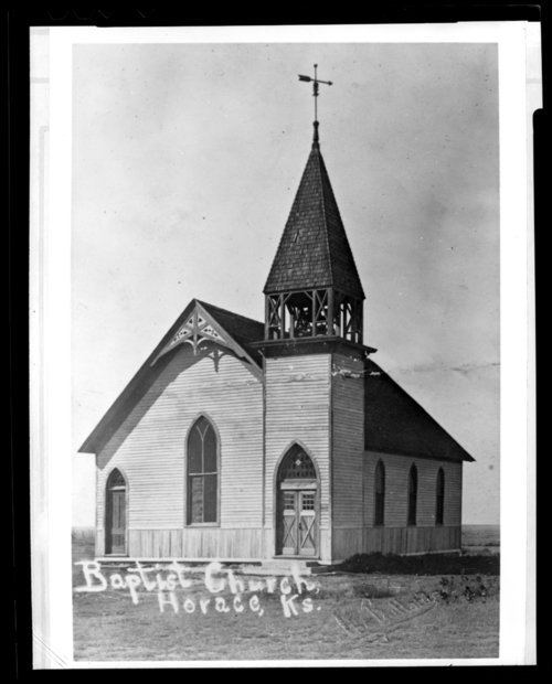 Baptist Church, Horace, Greeley County, Kansas - Page