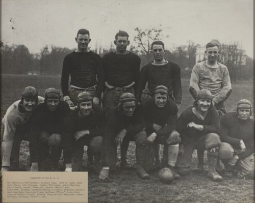 American Expeditionary Forces (A.E.F.) Football Champions - Page