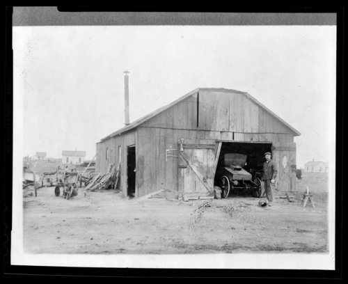 Charles Holmes blacksmith shop, Horace, Greeley County, Kansas - Page