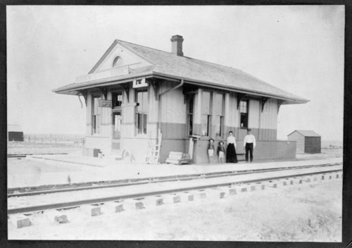 Missouri Pacific Railroad depot, Tribune, Kansas - Page